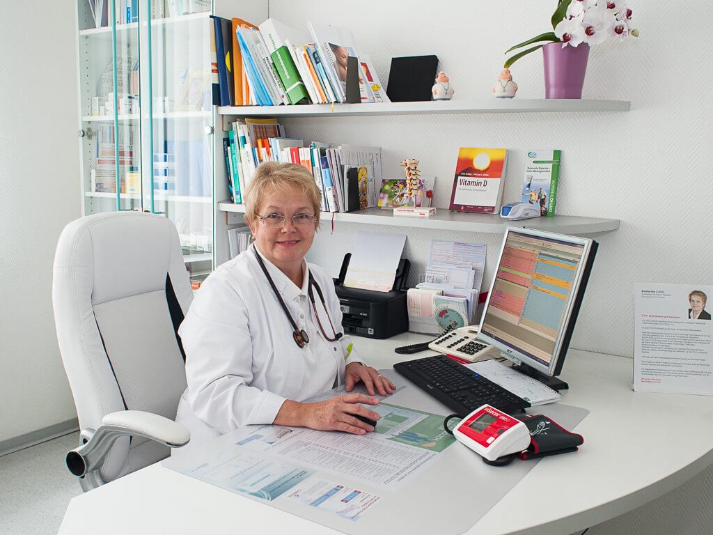 Portrait Katharina Leisle - Hausarzt Bissendorf